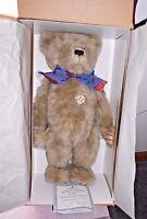 """Ashton Drake Galleries Gorgeous Teddy Bear Perfect Companions 22""""1999 Retired"""