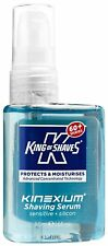 King of Shaves Kinexium Afeitado Serum Sensible,Silicona Botella con bomba 50 ml