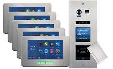 VOSPER 5 Apartments Proximity Reader ALECTO Monitors