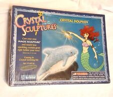 Crystal Sculptures by Kristal Dolphin Casting and Crystal Growing Kit New Nib