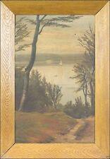 Künstlerische Malereien im Art Nouveau-Öl -