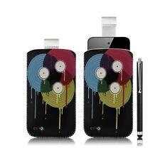 Housse coque étui pochette pour Apple iPod Touch 4G avec motif LM08 + stylet lux