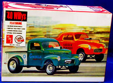 AMT  1940 Willy's Coupe/Pickup DRAG plastic model kit 1/25