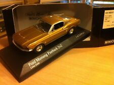 FORD MUSTANG FASTBACK COUPE 1968  1/43  MINICHAMPS GOLD