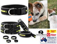 Dog Pet Collar Reflective Wetsuit Material Comfortable Water Beach Fun Sun Pup