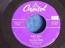 Ella Mae Morse-Big Dave/Money Honey-I Love You Yes I Do/Capitol F2882/EX to M-