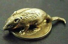 Russia Soviet USSR 1 kopek. Rare Coin! & mini figurine mouse, statuette mouse