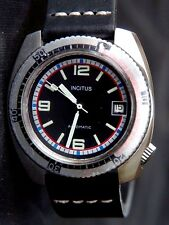 Vintage incitus tronco [Francia] Buzo Automático Fe Cal. 4611 con Fecha Reloj Reloj