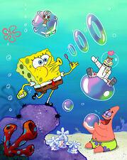 Spongebob Squarepants Iron on Transfer for tshirts 11.5x9cms - for WHITE cotton