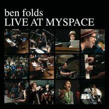 FOLDS,BEN-LIVE AT MYSPACE (LTD) (WHT) VINYL LP
