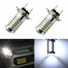H7 5630 33 LED Fog DRL Driving Car Head Light Lamp Bulbs White Super Bright New
