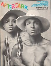 After Dark Magazine Entertainment mag BLACK MAGIC Josephine Baker SOUL TRAIN1-74