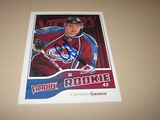 CAMERON GAUNCE AUTOGRAPHED 2011 UPPER DECK VICTORY ROOKIE CARD