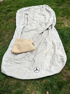 Genuine Mercedes Benz OEM Factory Car Cover Block-It Fabric w/Bag CMB66044