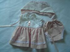 A Tiny Tears Dress Set for small Tiny Tears Doll From 1950's