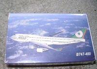 EVA AIR  B747-400 Playing Cards New/Sealed