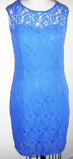 NWOT Women Spense Lace Lined Sleeveless Blue Size 6P