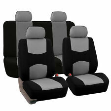 Seat Covers for Car Truck SUV Van Universal Fitmentment Gray Black
