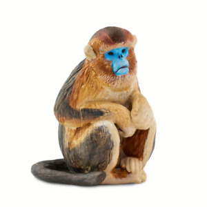 Safari Ltd Snub Nosed Monkey Wild Safari Wildlife, #SAF100321