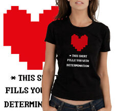 Undertale  - Maglietta Cuore Determinazione - Heart Tee T-shirt
