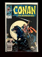 CONAN THE BARBARIAN VOL.1 #202 MARVEL COMICS 1988 VF NEWSSTAND EDITION
