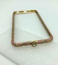 Luxury Crystal Diamond Metal Case Bumper Pink For iPhone 6/6s Plus New
