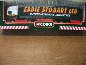 1:64 CORGI  - EDDIE STOBART DAF `95 CAB & CURTAINSIDER