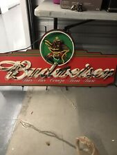Budweiser Beer Neon Sign