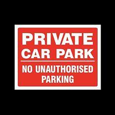 No Parking Private parcheggio 3mm METAL SIGN 3 dimensioni misc30