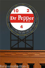 Miller's Dr. Pepper  Animated Neon Sign O/HO Scale Miller Engineering