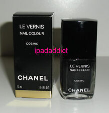 Chanel Cosmic Black Sparkle Glitter LE Limited Edition Le Vernis Nail Polish New
