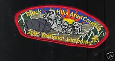 MINT 2005 JSP Black Hills Cncl SD Red Bdr Mt Rushmore