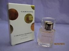 CAROLINA by CAROLINA HERRERA 0.14 FL oz / 4 ML Eau De Toilette Mini New In Box