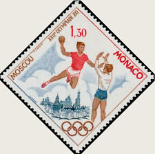 "MONACO N° 1219 ""JO DE MOSCOU, HANDBALL""NEUF xxTTB"