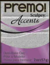 Polyform 465042 Premo Sculpey Polymer Clay 2 Ounces-gray Granite