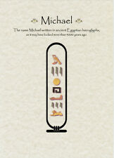 Your Name, ANY NAME, in HIEROGLYPHICS - Perfect Christmas Gift, Egyptian Theme