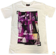 Unbranded Geometric Graphic Tee Cotton T-Shirts for Men
