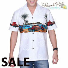 Rockabilly Floral Casual Shirts for Men