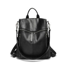 Women Lady Genuine Leather Crossbody Bag Shoulder Bags Handbag School Backpack