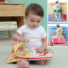 Early Development Education Cloth Book For Baby Toddlers Potty And Bath Learning