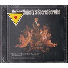John Barry CD 007 On Her Majesty's Secret Service OST Soundtrack EMI Sigillato