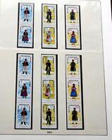 DDR 1955/90 Postfrische Sammlung Zusammendrucke fast komplett 4.000 EURO Katwert