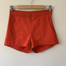 Pilgrim Red Shorts Pockets Size 8