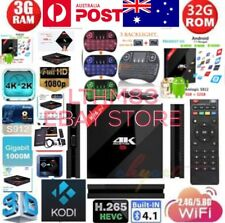 H96 PRO+ PLUS 3/32GB ANDROID 7.1 TV BOX DUAL WIFI BLUETOOTH 17.5 + KEYBOARD AUS