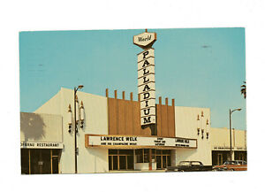 Hollywood Palladium Los Angeles California Lawrence Welk 1965 Vintage Postcard