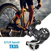 1Pc Tourney RD TX35 6/7/8 Speed Direct Mount MTB Rear Mech Derailleur