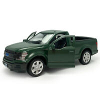 1:36 Ford F-150 Pickup Truck Model Car Diecast Toy Vehicle Matte Green Gift