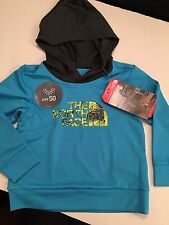 New With Tags Baby Boys Authentic North  Face Pullover Hoodie Size 24 Months
