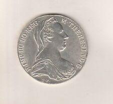 Maria Theresien -Taler 1780 S.F. Günzburg - Silber - ca. 28 Gramm - 36mm Durchm