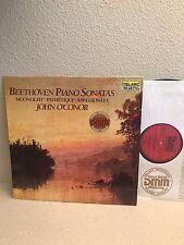 Beethoven Piano Sonatas John O'Conor LP UNPLAYED Telarc DG-10118 DMM Audiophile